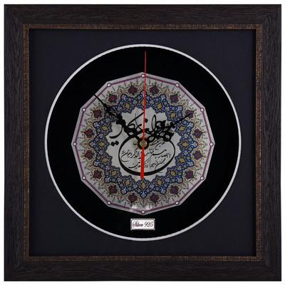 Photo of ساعت نقره گالری گنجینه طرح 12 ضلعی آیه ان یکاد مدل 00-31