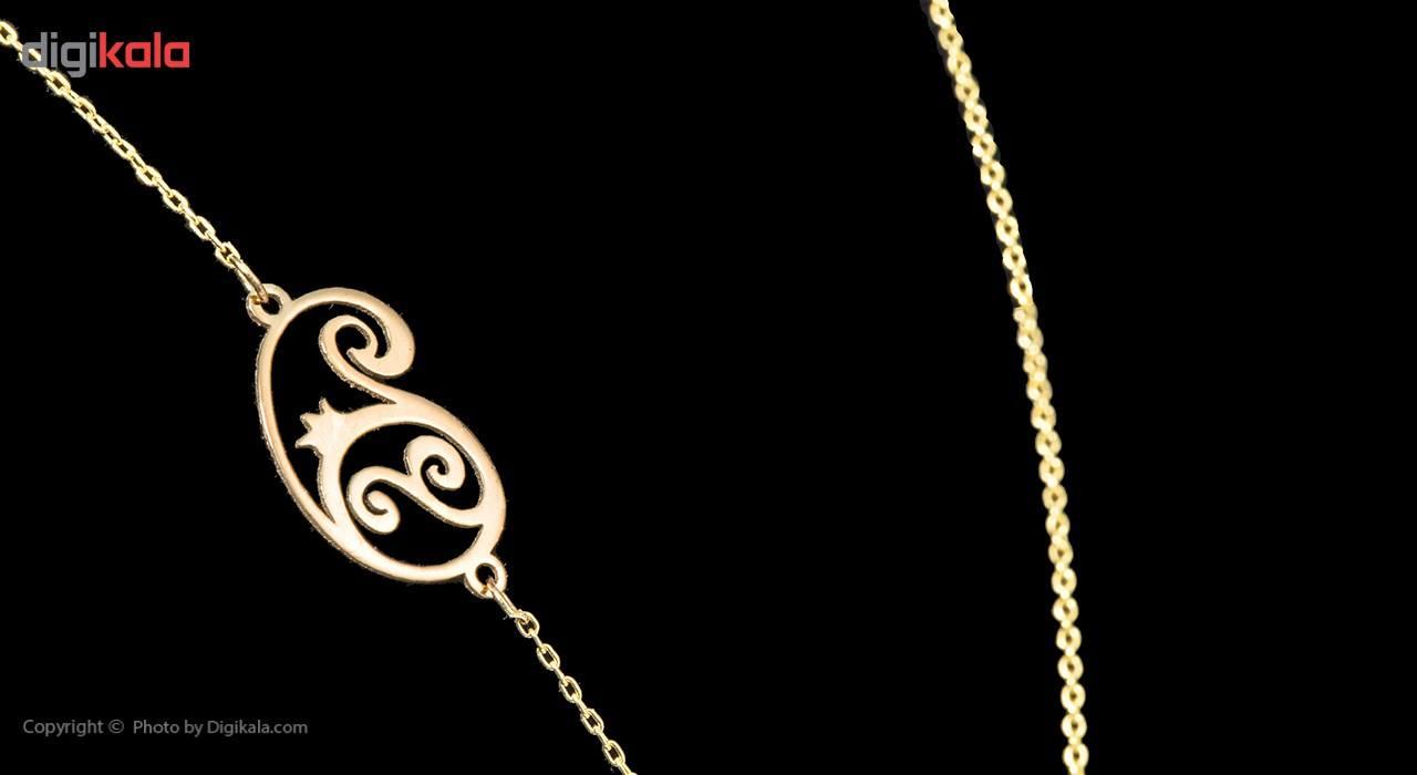 گردنبند طلا 18 عیار ماهک مدل MM0606 - مایا ماهک -  - 4