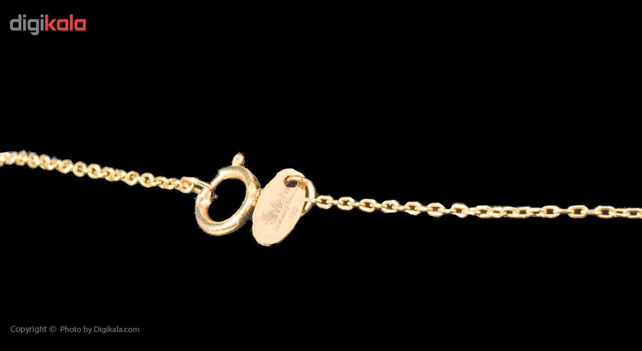 گردنبند طلا 18 عیار ماهک مدل MM0606 - مایا ماهک -  - 5
