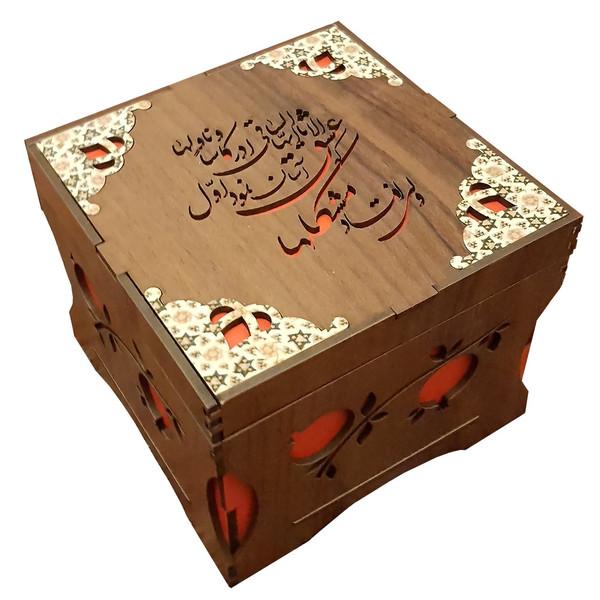 جعبه پذیرایی انار یلدا کد B101