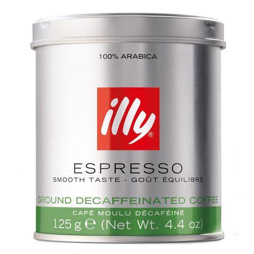 قوطی پودر قهوه ایلی مدل Espresso Decaf مقدار 125 گرم