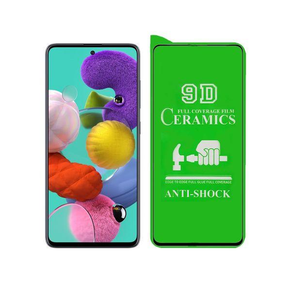 محافظ صفحه نمایش سرامیکی مدل YGL-S مناسب برای گوشی موبایل سامسونگ Galaxy A51