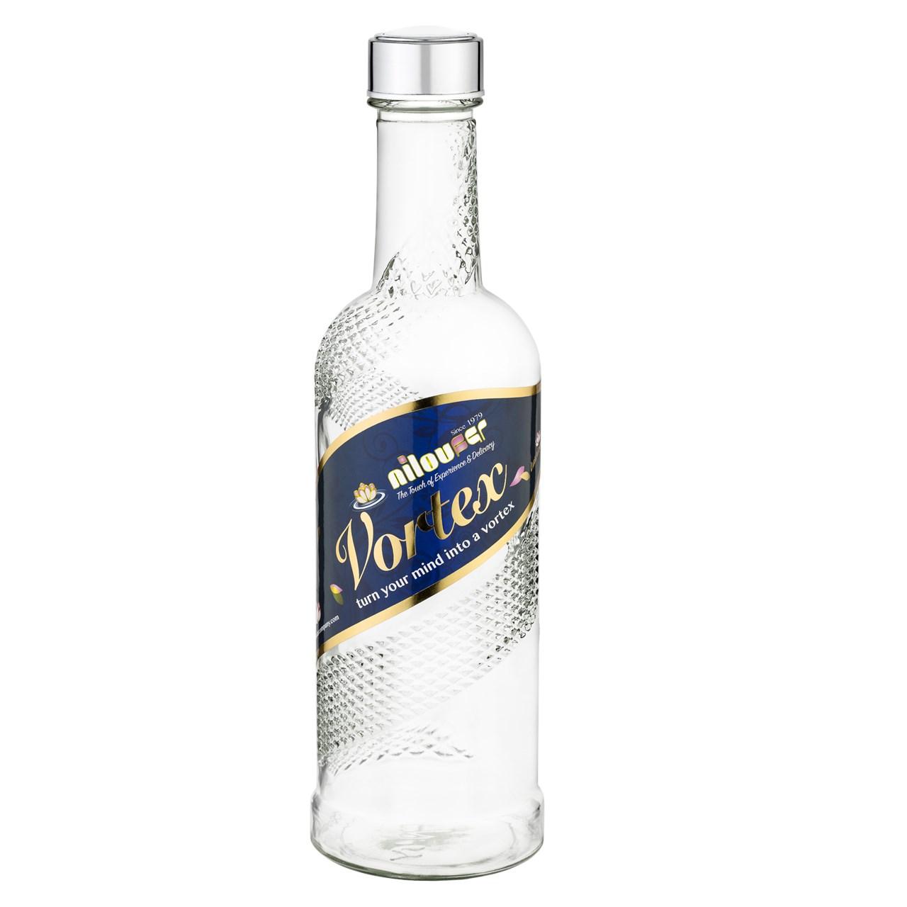 بطری آب نیلوفر مدل ورتکس