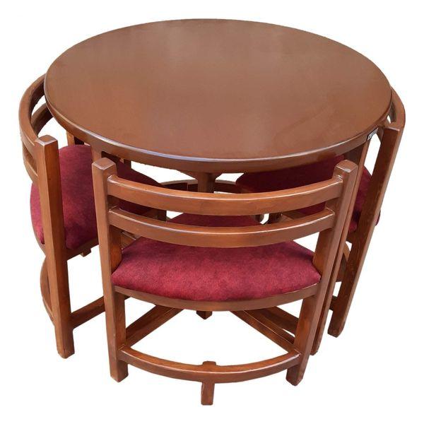 میز و صندلی ناهارخوری 4 نفره مدل Ro-CH-005