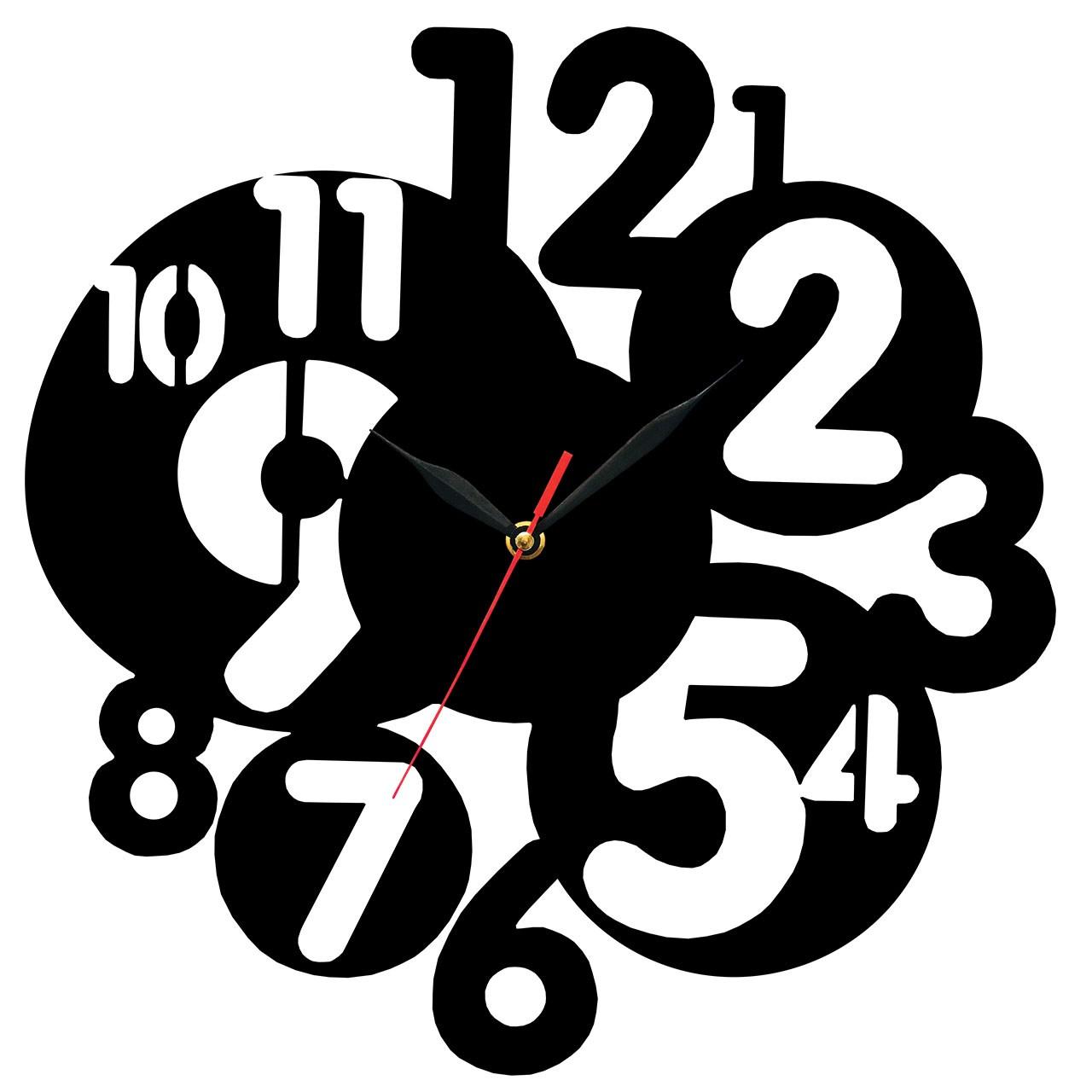 ساعت دیواری چوب هوم آرت HAC0036