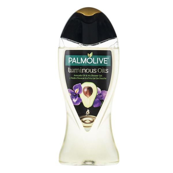 شامپو بدن پالمولیو سری Luminous Oils مدل Avocado حجم 250 میلی لیتر