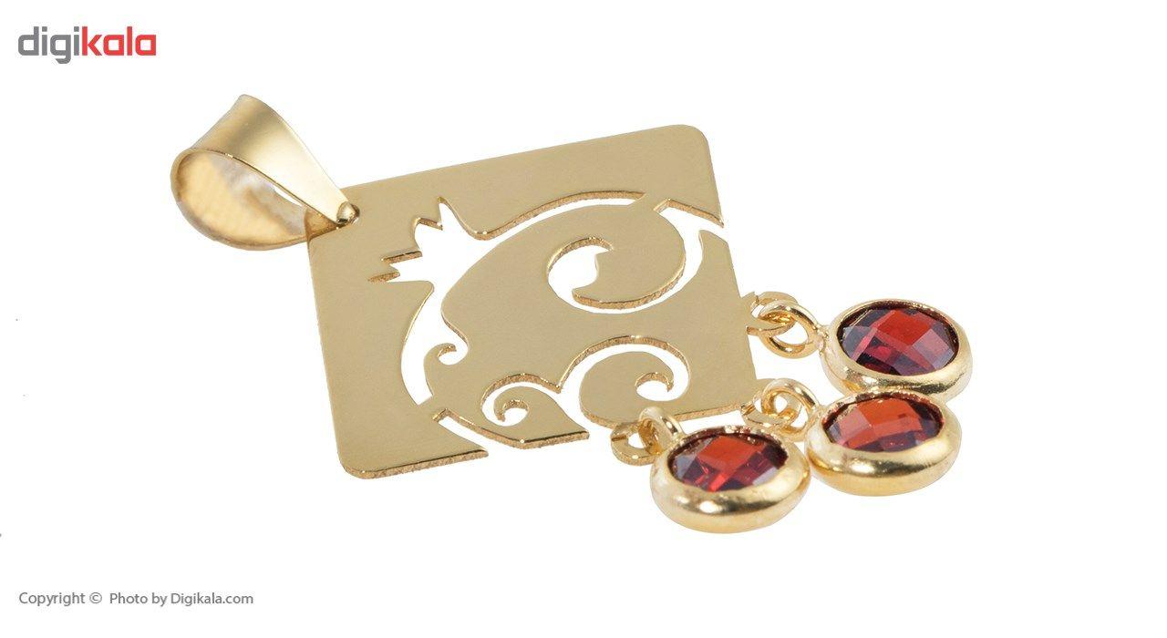 آویز گردنبند طلا 18 عیار ماهک مدل MM0595 - مایا ماهک -  - 1