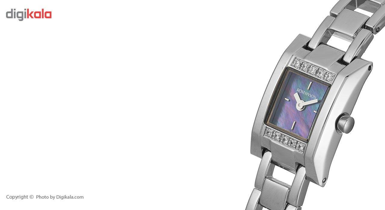 ساعت مچی عقربه ای زنانه رومانسون مدل RM9241QL1WM32W -  - 3