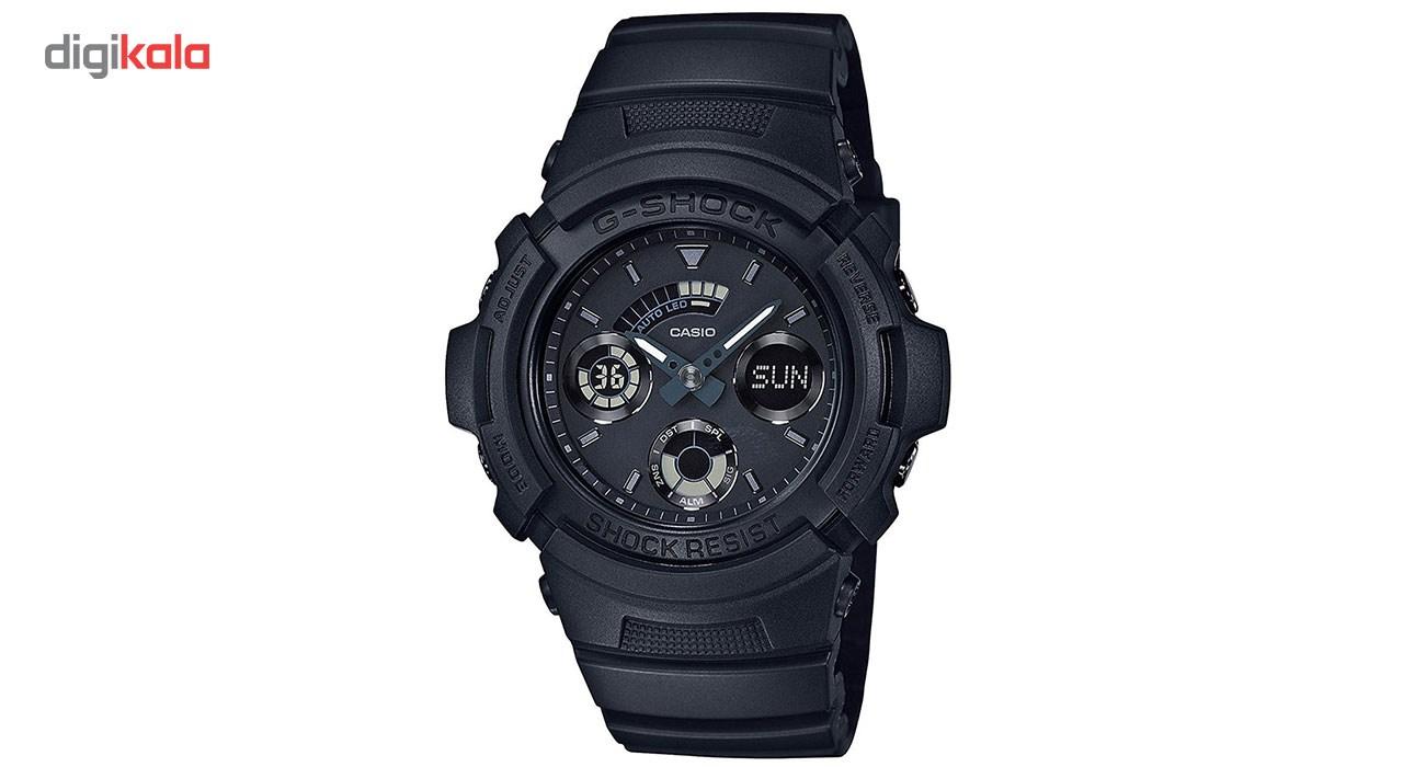 خرید ساعت مچی عقربه ای مردانه کاسیو جی شاک مدل AW-591BB-1ADR