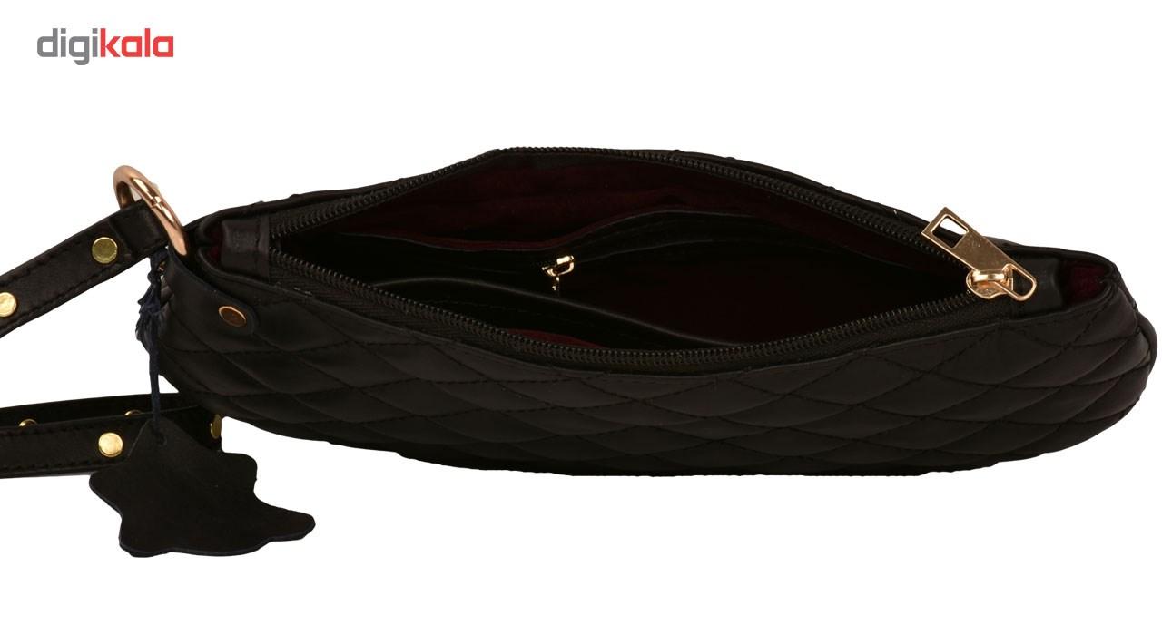 کیف لوازم آرایش کهن چرم مدل A3-4