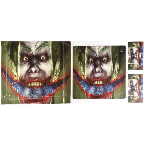 برچسب پلی استیشن 4 اسلیم مدل Joker