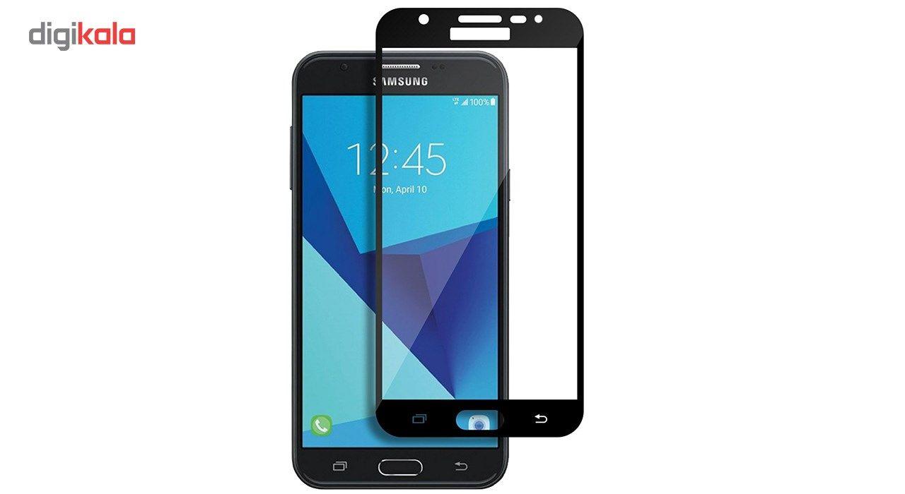 محافظ صفحه نمایش شیشه ای ریمو مدل Full Cover مناسب برای گوشی موبایل سامسونگ گلکسی J7 Prime main 1 1
