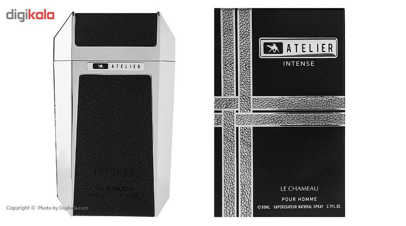 ادو تویلت مردانه امپر مدل Atelier Intense حجم 80 میلی لیتر