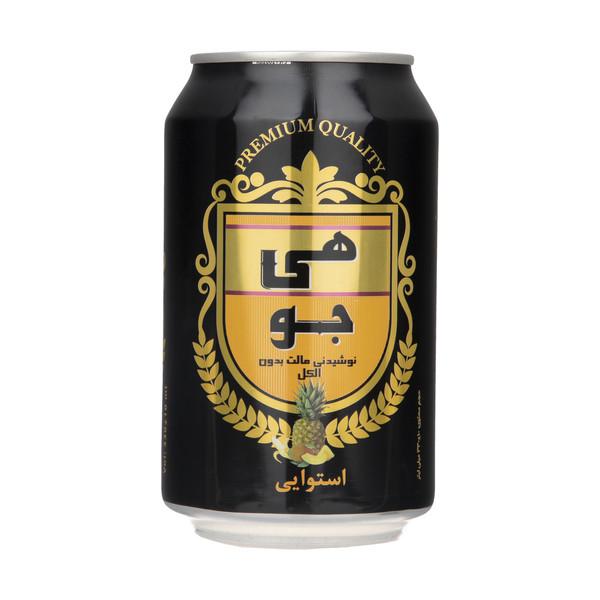 نوشیدنی مالت هی جو با طعم استوایی - 330 میلی لیتر