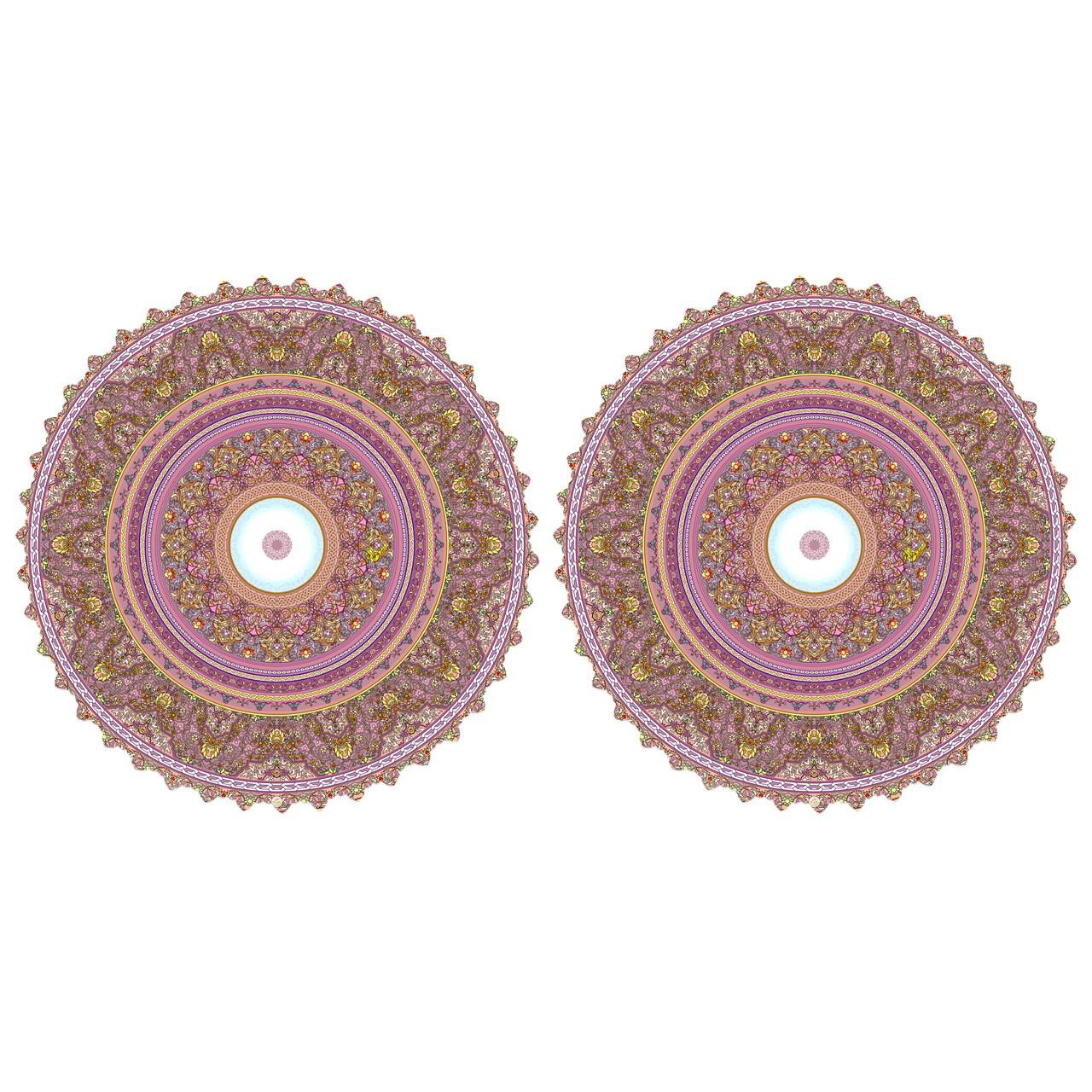 عکس رومیزی رنگارشاپ مدل TB42-SHA008 بسته 2 عددی