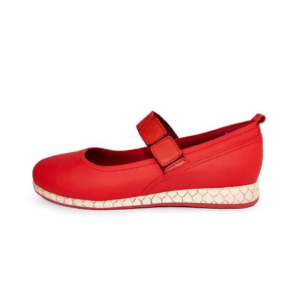 کفش روزمره زنانه چرم کروکو مدل 1000065