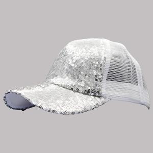 کلاه کپ بچگانه مدل POLAK کد 51160 رنگ نقره ایی