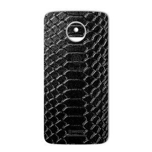 برچسب پوششی ماهوت مدل Snake Leather مناسب برای گوشی  Motorola Moto Z Play