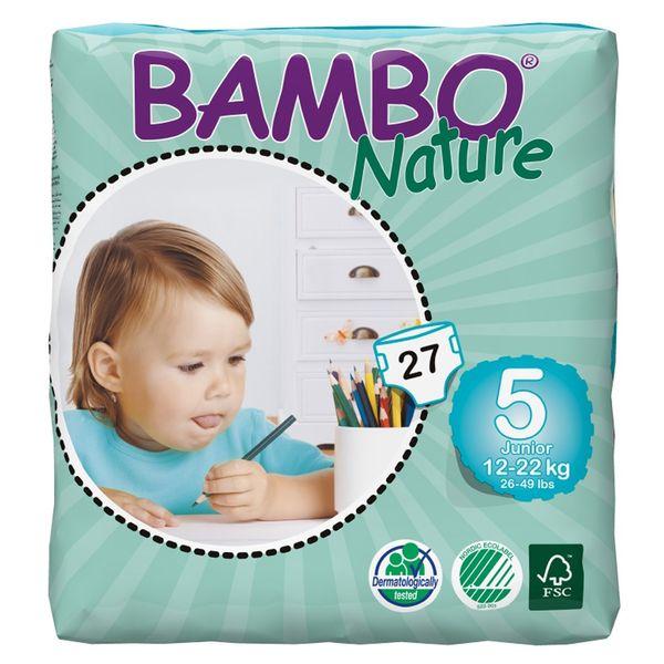 پوشک بامبو مدل Junior سایز 5 بسته 27 عددی
