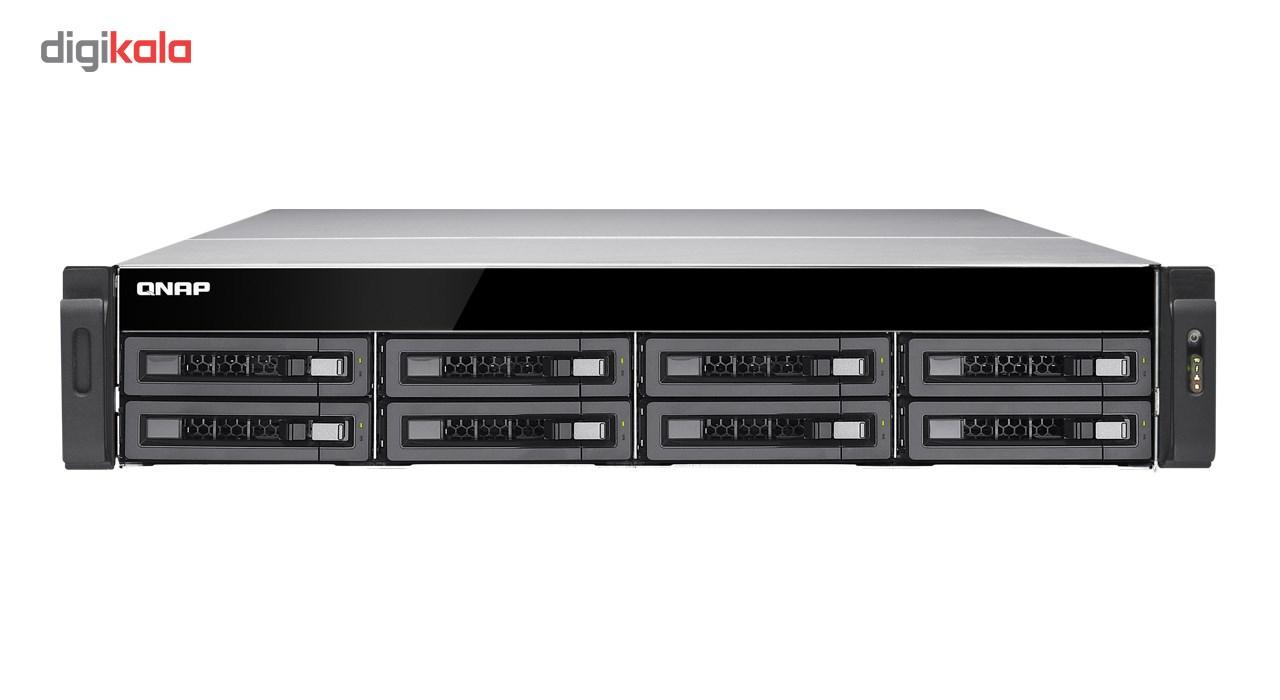 ذخیره ساز تحت شبکه کیونپ مدل TS-EC880U-E3-4GE-R2