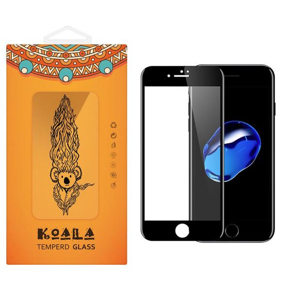 محافظ صفحه نمایش شیشه ای کوالا مدل Full Cover مناسب برای گوشی موبایل اپل آیفون7 Plus