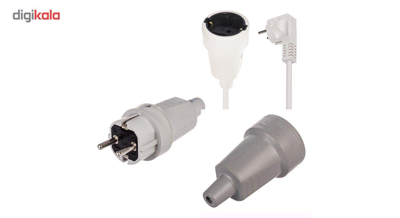 دوشاخه و پریز صنعتی خیام الکتریک مدل 6 main 1 1