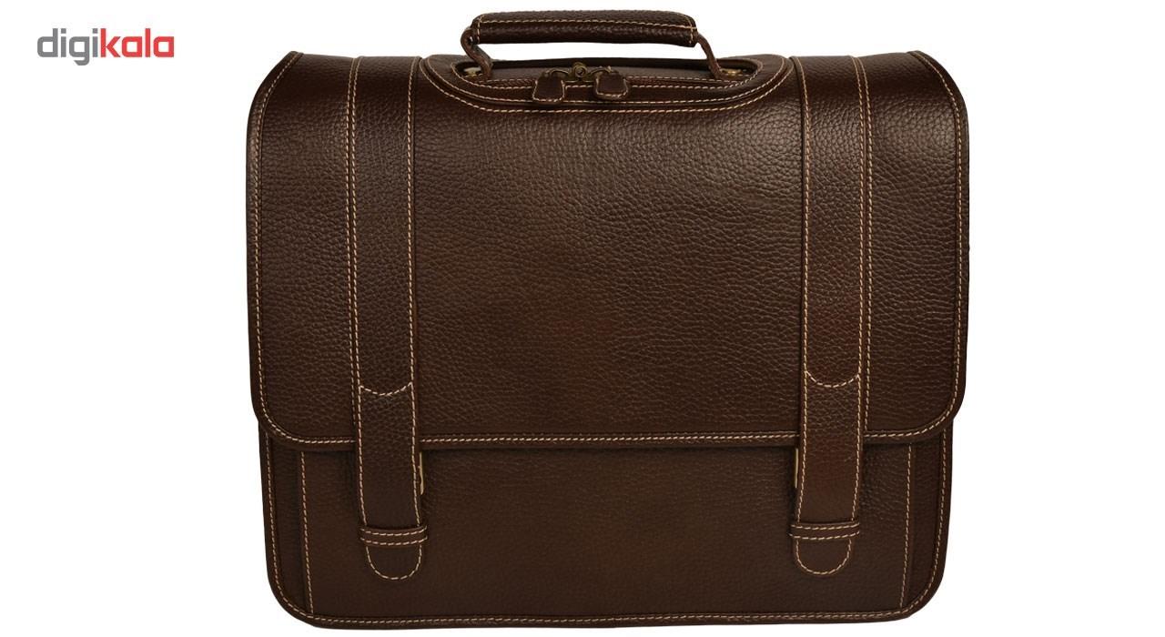 KOHANCHARM natural leather office bag, model LT1-50