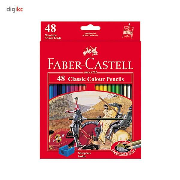 مداد رنگی 48 رنگ فابر-کاستل مدل Classic main 1 1