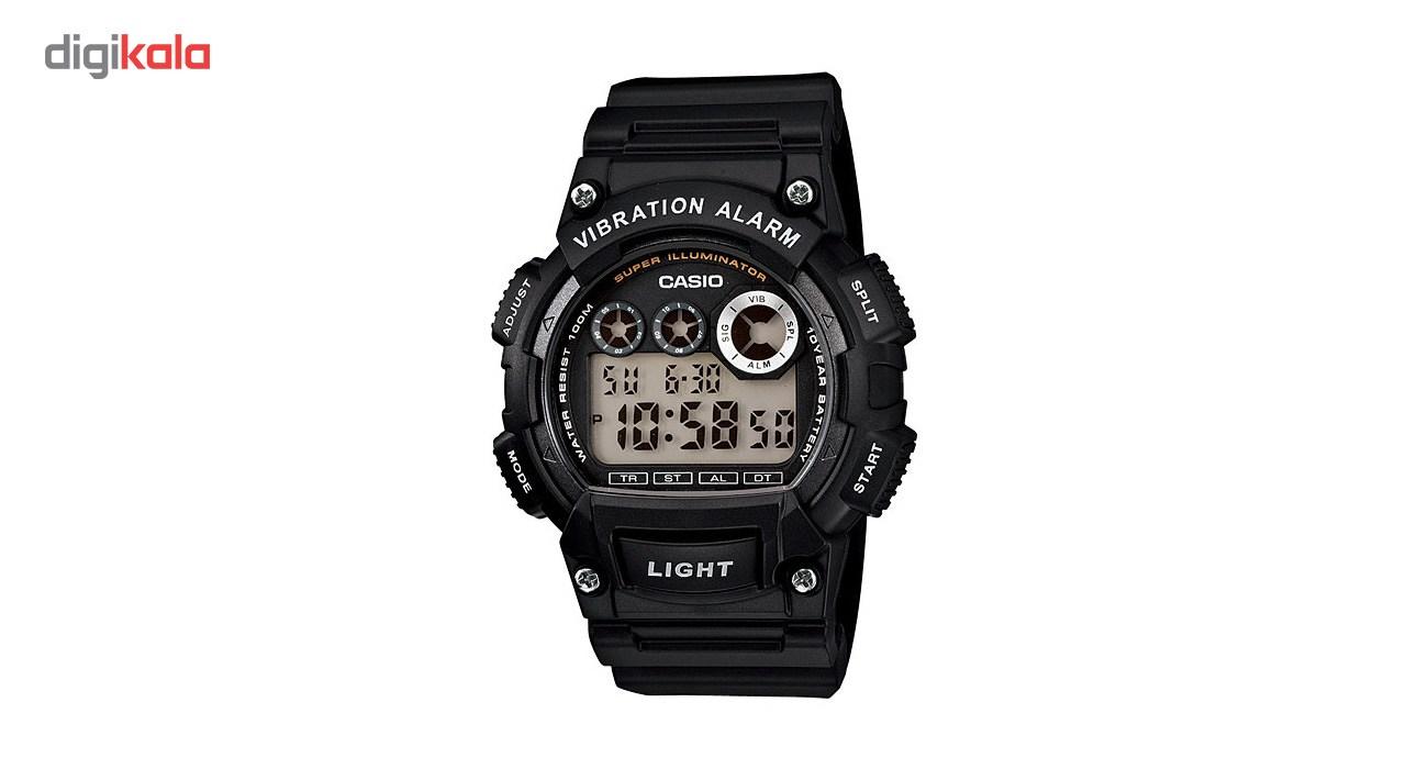 خرید ساعت مچی دیجیتالی مردانه کاسیو مدل  W-735H-1AVDF | ساعت مچی