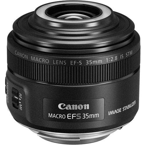 لنز دوربین کانن مدل EF-S 35mm f/2.8 Macro IS STM For Canon Cameras