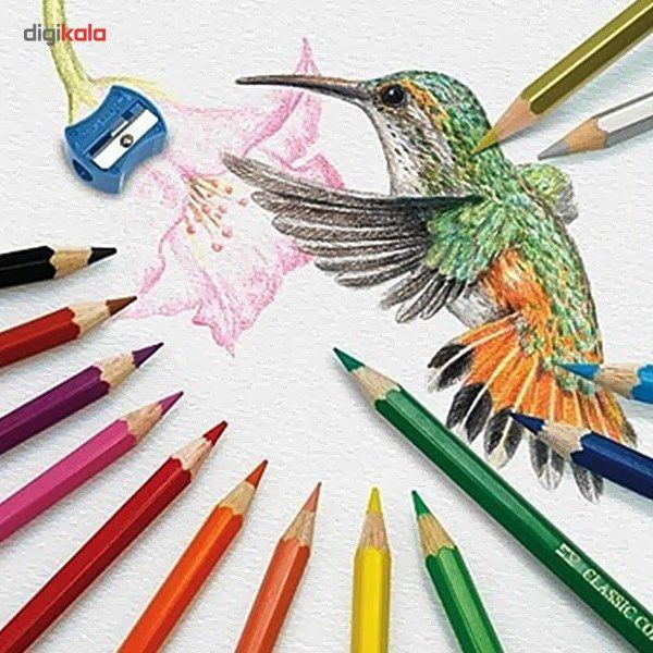 مداد رنگی 48 رنگ فابر-کاستل مدل Classic main 1 2