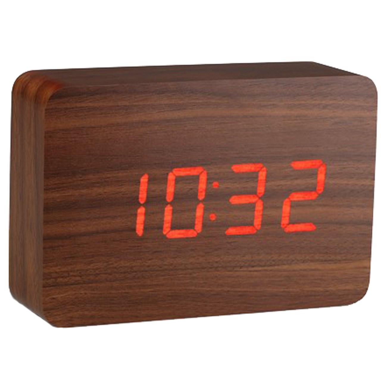 خرید ساعت رومیزی کیمیت مدل Woody 863