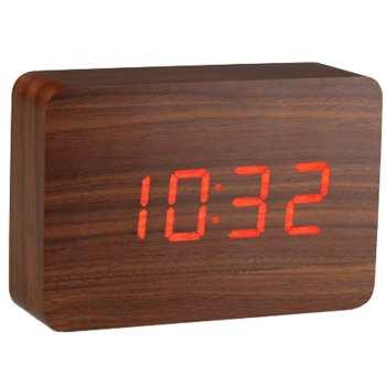 ساعت رومیزی کیمیت مدل Woody 863