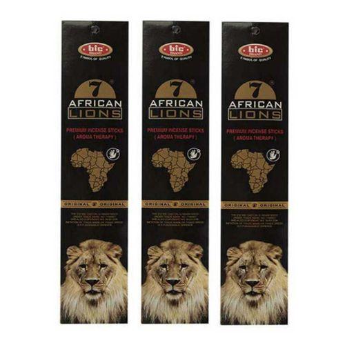 عود خوشبو کننده بیک مدل african lions بسته 3 عددی