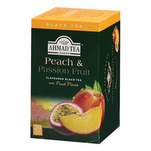 بسته چای کیسه ای چای احمد مدل Peach And Passion Fruit