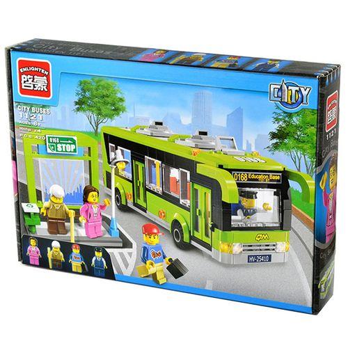 لگو اتوبوس انلایتن مدل 1121 تعداد 418 قطعه