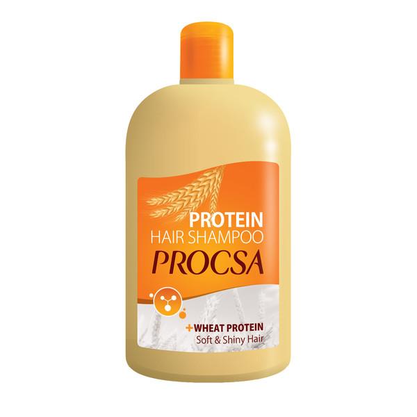 شامپو مو پروکسا مدل Wheat Protein حجم ۵۰۰ میلی لیتر