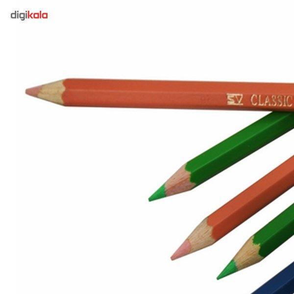 مداد رنگی 48 رنگ فابر-کاستل مدل Classic main 1 3