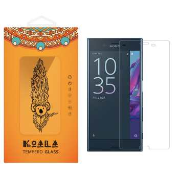 محافظ صفحه نمایش شیشه ای کوالا مدل Tempered مناسب برای گوشی موبایل سونی Xperia XZ
