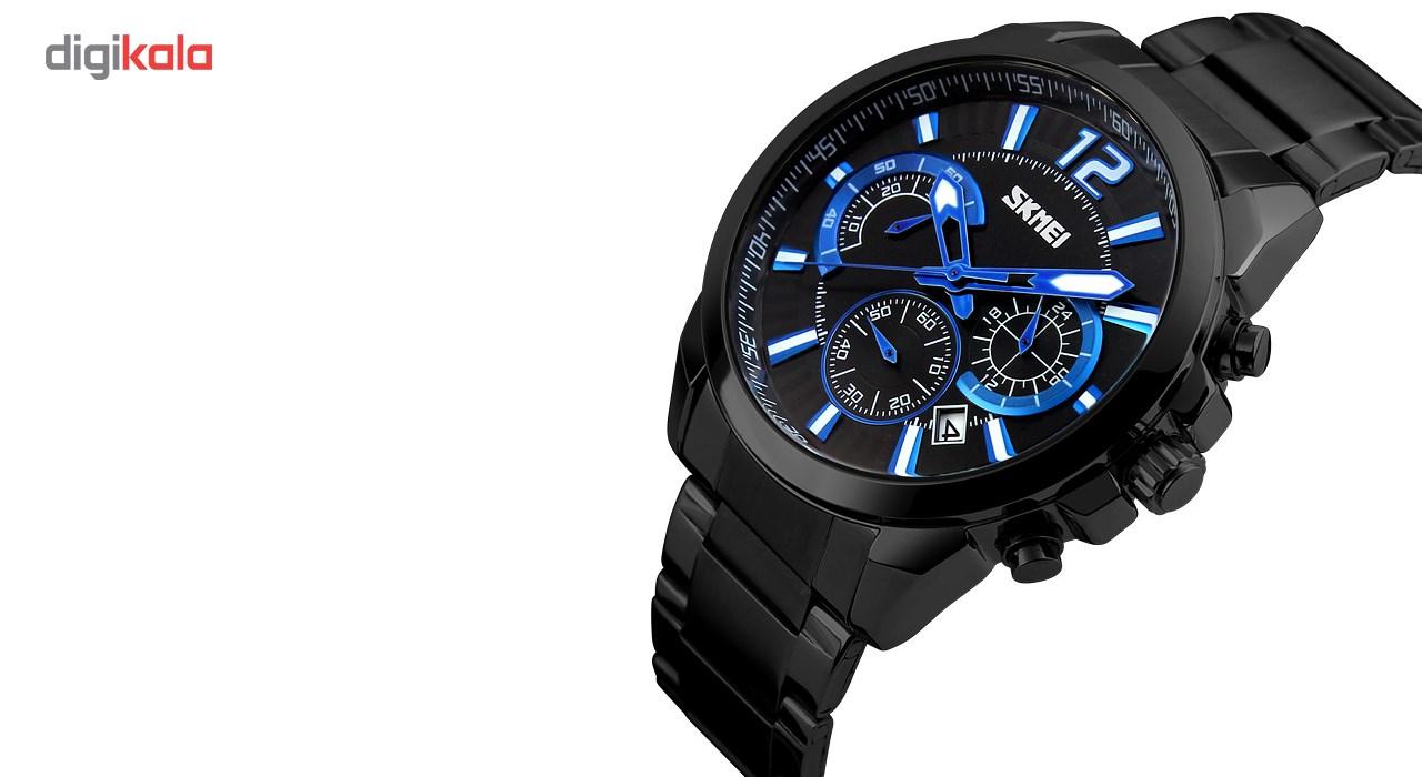 ساعت مچی عقربه ای مردانه اسکمی مدل 9108  کد 02