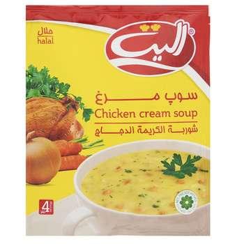 سوپ نیمه آماده  مرغ الیت مقدار 61 گرم
