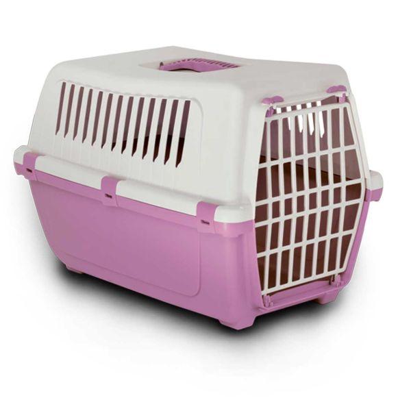 باکس حمل سگ و گربه ام پی مدل درب پلاستیکی