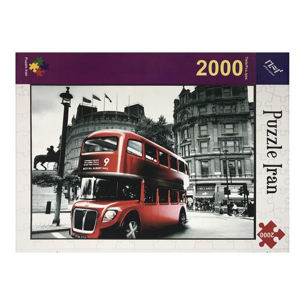 پازل 2000 تکه پازل ایران مدل Bus