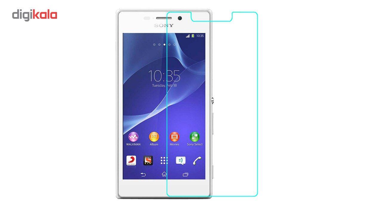 محافظ صفحه نمایش شیشه ای تمپرد مناسب برای گوشی موبایل سونی Xperia M2 main 1 1
