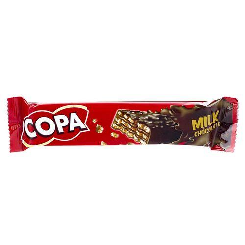 ویفر با روکش شکلات شیری کوپا مقدار 32 گرم