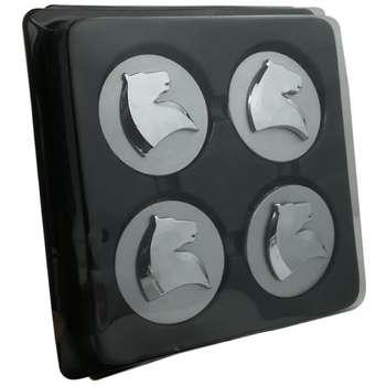 قالپاق چرخ مدل سمند مناسب برای رینگ های آلومینیومی فابریک ایران خودرو بسته 4 عددی
