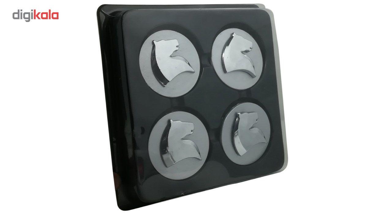 قالپاق چرخ مدل سمند مناسب برای رینگ های آلومینیومی فابریک ایران خودرو بسته 4 عددی main 1 1