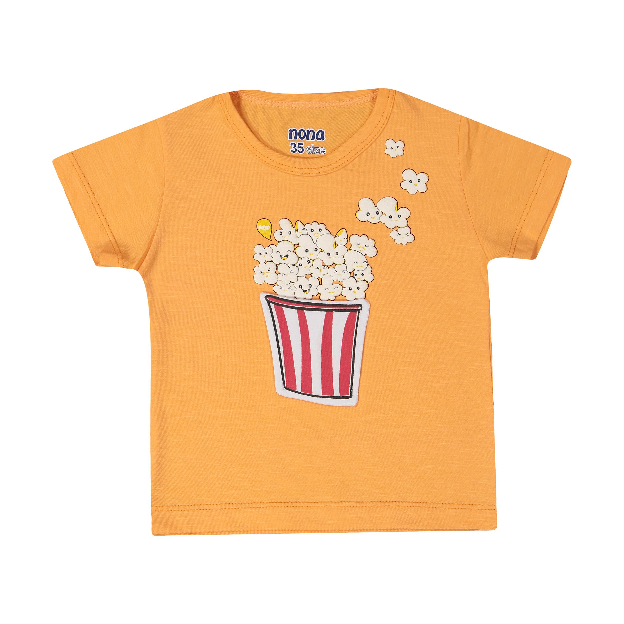 تی شرت پسرانه نونا مدل 2211116-23