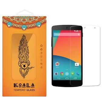 محافظ صفحه نمایش شیشه ای کوالا مدل Tempered مناسب برای گوشی موبایل ال جی Nexus 5