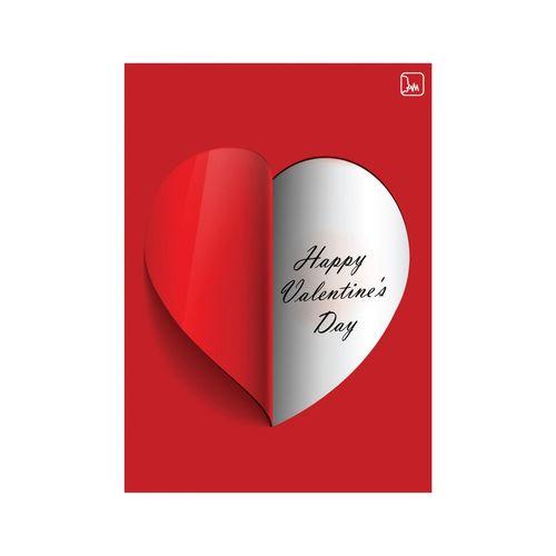 کارت پستال لیلی طرح عشق با قابلیت ضبط صدا کد 1129